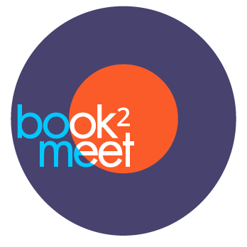 book2meet case study: logo by graphility